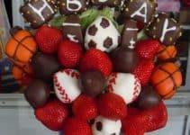 Ideas para crear arreglos de frutas para hombres