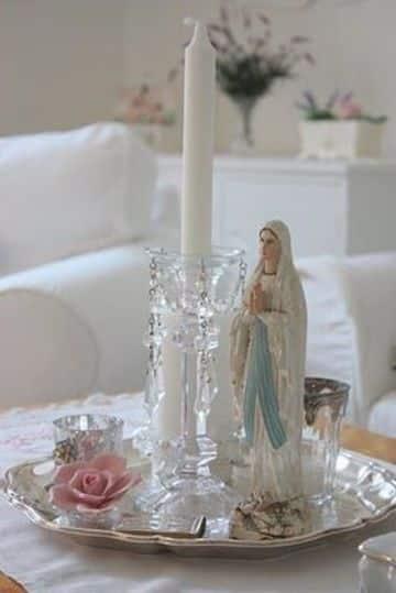 arreglos para altares de santos en casa
