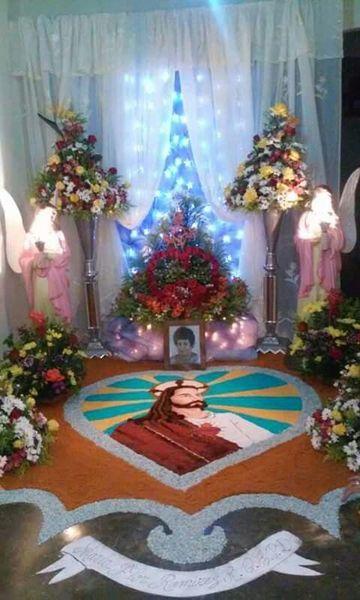 arreglos para altares de santos para novenarios