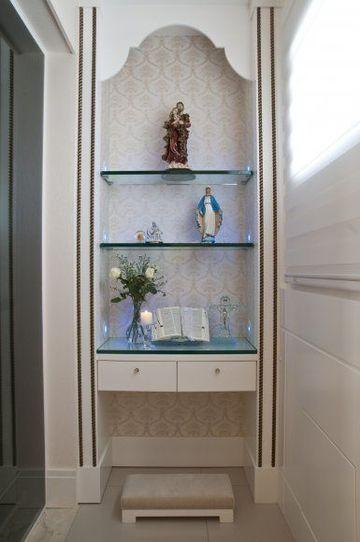 imagenes de altares catolicos pequeños en casa