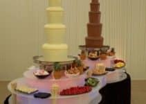 Diversas imagenes de fuentes de chocolate para fiesta