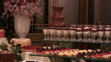 imagenes de fuentes de chocolate para fiestas