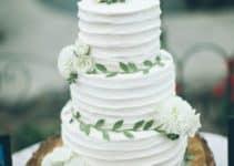 Algunas imagenes de pasteles de boda sencillos