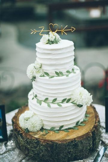 imagenes de pasteles de boda sencillos 3 pisos
