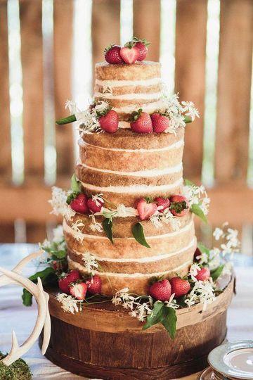 imagenes de pasteles de boda sencillos desnuda