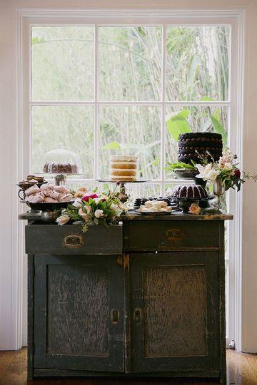 mesas de dulces para eventos en casa