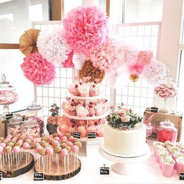 mesas de dulces para eventos juveniles