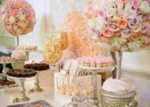Extraordinarias y originales mesas de golosinas para bodas