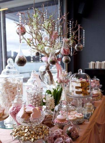 mesas de golosinas para bodas