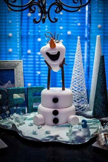 modelos de tortas de frozen divertida