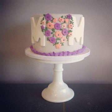 pasteles para el 10 de mayo decorado
