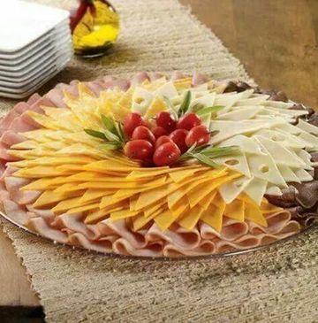 tablas de fiambres y quesos para una picada