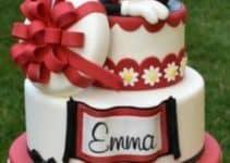 Divertidos decorados de tortas de minnie coqueta