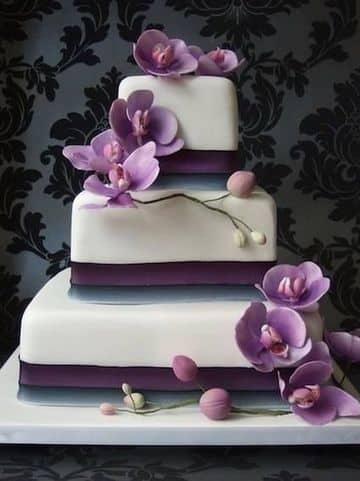 tortas para 15 años cuadradas 3 pisos