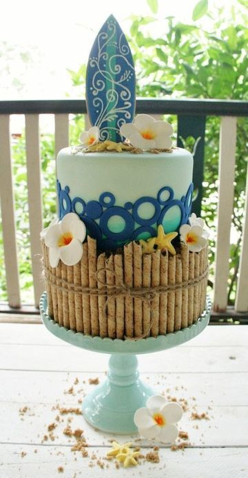 tortas tematicas para mujeres de playa