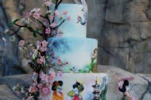 Diseños originales de tortas tematicas para mujeres