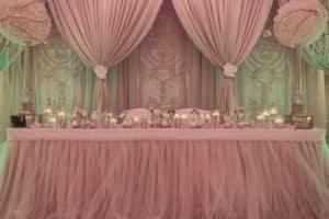 Hermosos y elegantes adornos de mesa para quinceañera