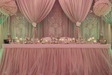 adornos de mesa para quinceañera elegante