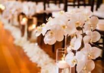 Majestuosos y hermosos adornos florales para bodas