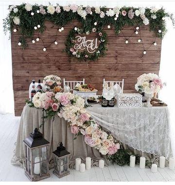 adornos florales para bodas rustica