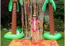 Divertidos y curiosos adornos hawaianos para fiesta