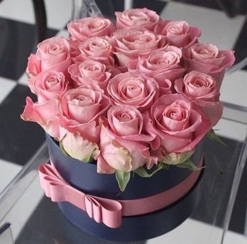 arreglos de flores de cumpleaños de rosas