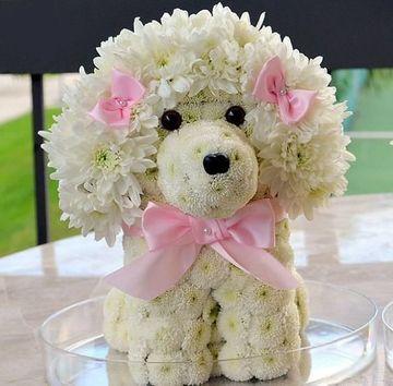 arreglos florales para niñas de animalitos