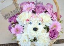 Sencillos y bonitos arreglos florales para niñas