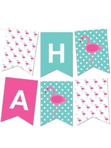 banderines de papel para imprimir para niña
