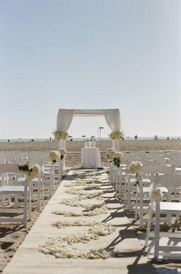 bodas sencillas en la playa de dia