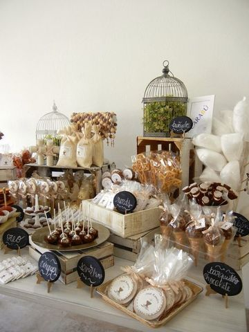 candy bar para comunion organico