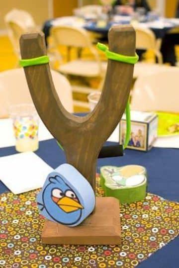 centro de mesa angry birds sencilloa