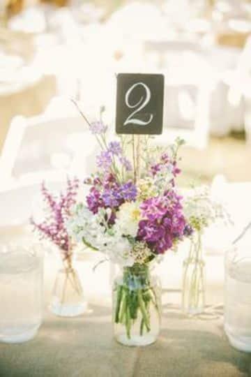 centros de mesa con plantas naturales para bodas