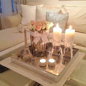 centros de mesa modernos para casa elegante