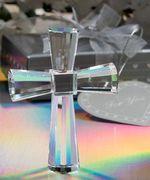 cruces para primera comunion de cristal