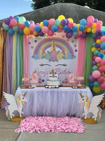 fiestas tematicas de unicornios exteriores