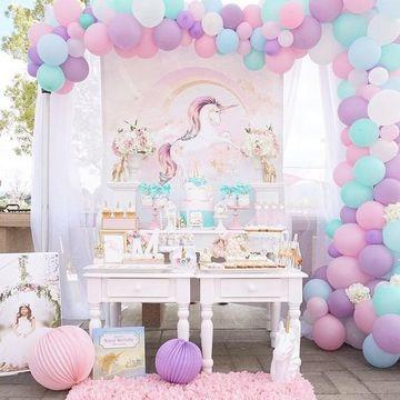 fiestas tematicas de unicornios vintage