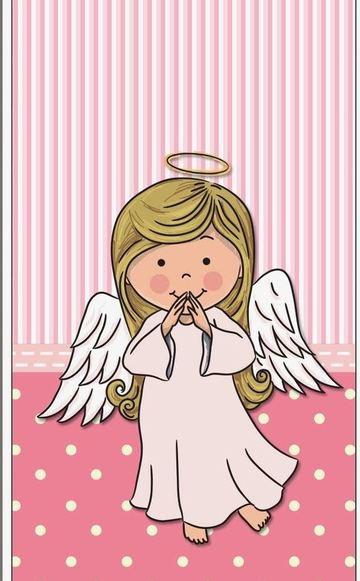 imagenes de bautizo para niña en rosado