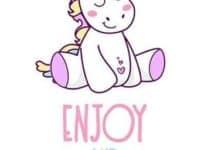 Bonitas imagenes de unicornios infantiles para invitacion