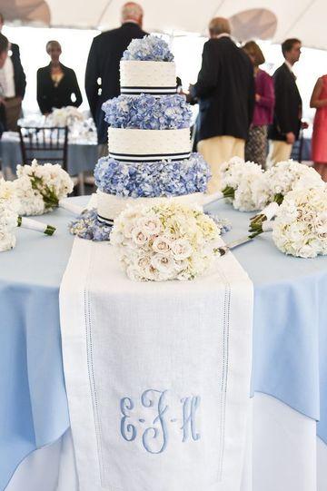 manteles de mesa para boda bordado