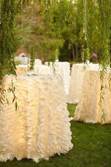 manteles de mesa para boda elegante