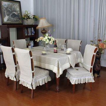 manteles decorativos para mesas combinados con sillas