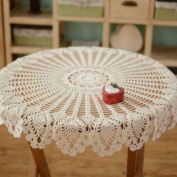 manteles decorativos para mesas tejidos