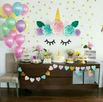 mesas decoradas para fiestas infantiles en casa