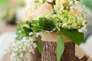 Creativas ideas para adornos con troncos de arboles
