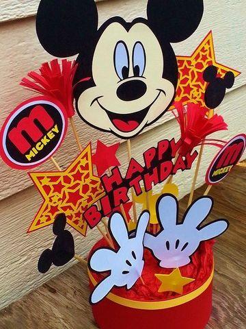 arreglos de mickey mouse para fiesta