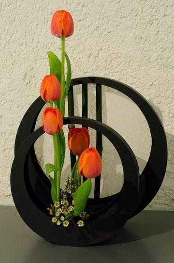 arreglos florales sencillos y elegantes para el hogar