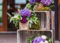 Hermosos arreglos rusticos para bodas y otros eventos
