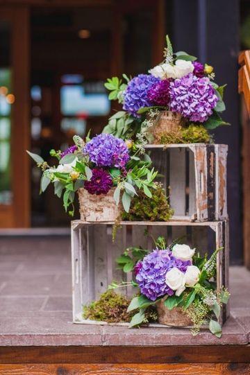 arreglos rusticos para bodas para decorar iglesia