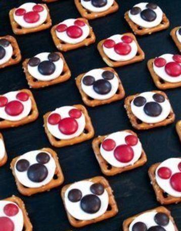 cosas de mickey para cumpleaños de comer